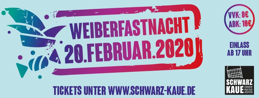 Weiberfastnacht 2020